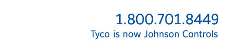 Tyco is now Johnson Controls 1-800-701-8449